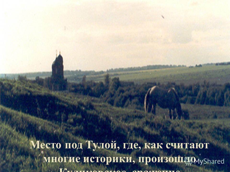 Место под Тулой, где, как считают многие историки, произошло Куликовское сражение