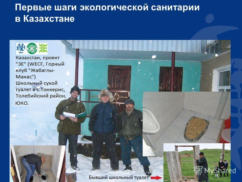 Первые шаги экологической санитарии в Казахстане