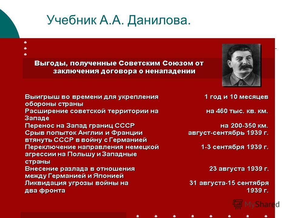 Учебник А.А. Данилова.