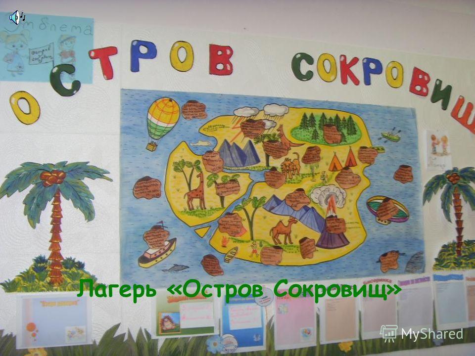 МОУ СОШ 68 представляет Лагерь «Остров Сокровищ»
