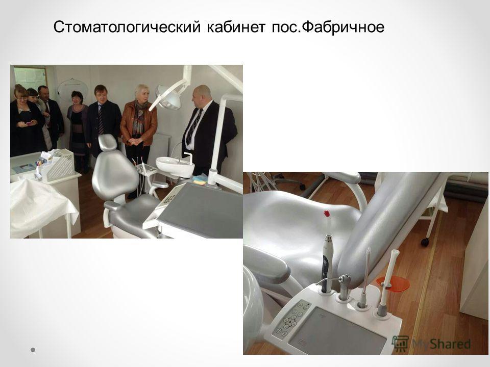 Стоматологический кабинет пос.Фабричное