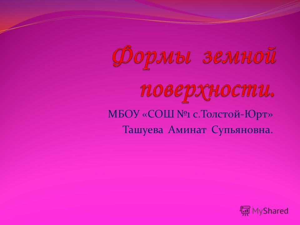 МБОУ «СОШ 1 с.Толстой-Юрт» Ташуева Аминат Супьяновна.