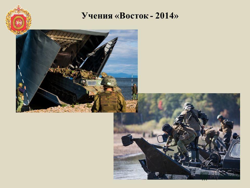 Учения «Восток - 2014»
