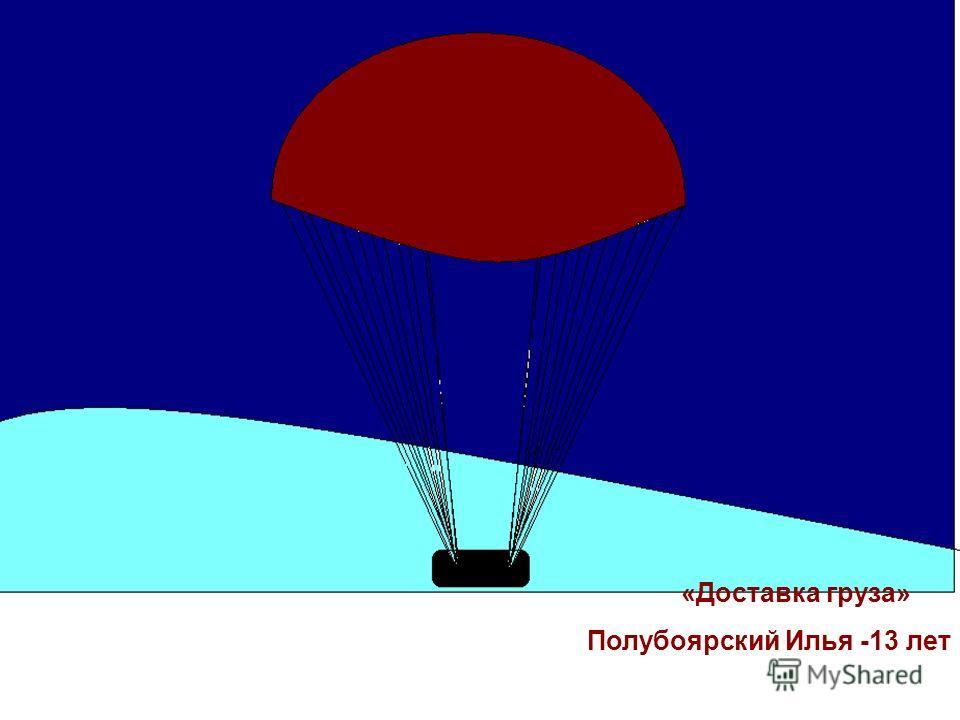 «Доставка груза» Полубоярский Илья -13 лет