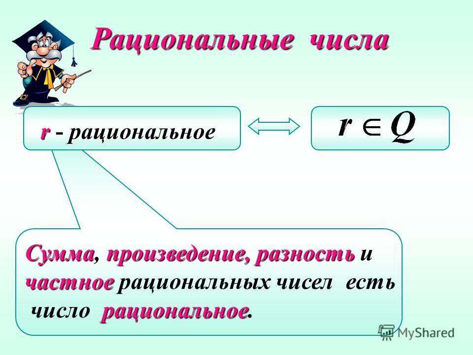 Целые числа Дробные числа 1 0 -4 91058 7,13,20,(2) 0,1 2/7 Рациональные