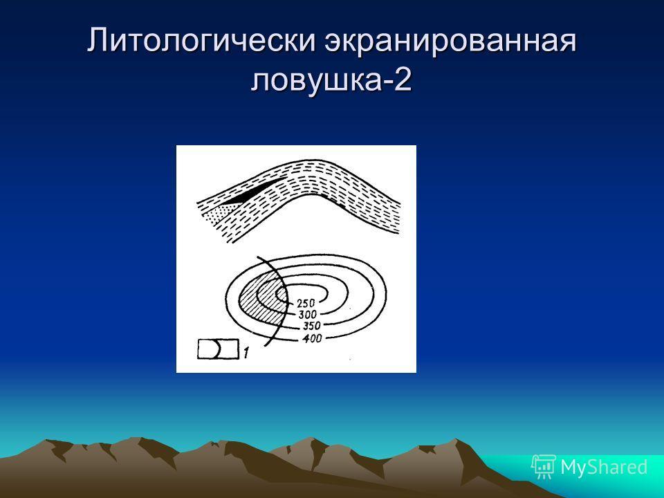 Литологически экранированная ловушка-2
