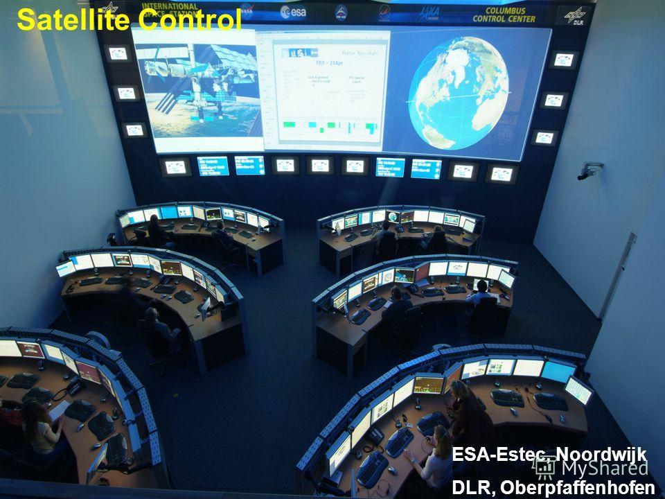 Knürr Technical Furniture ESA-Estec, Noordwijk DLR, Oberpfaffenhofen Satellite Control
