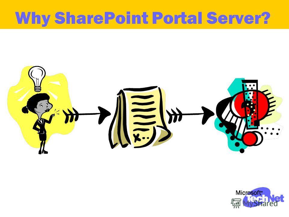 Why SharePoint Portal Server?