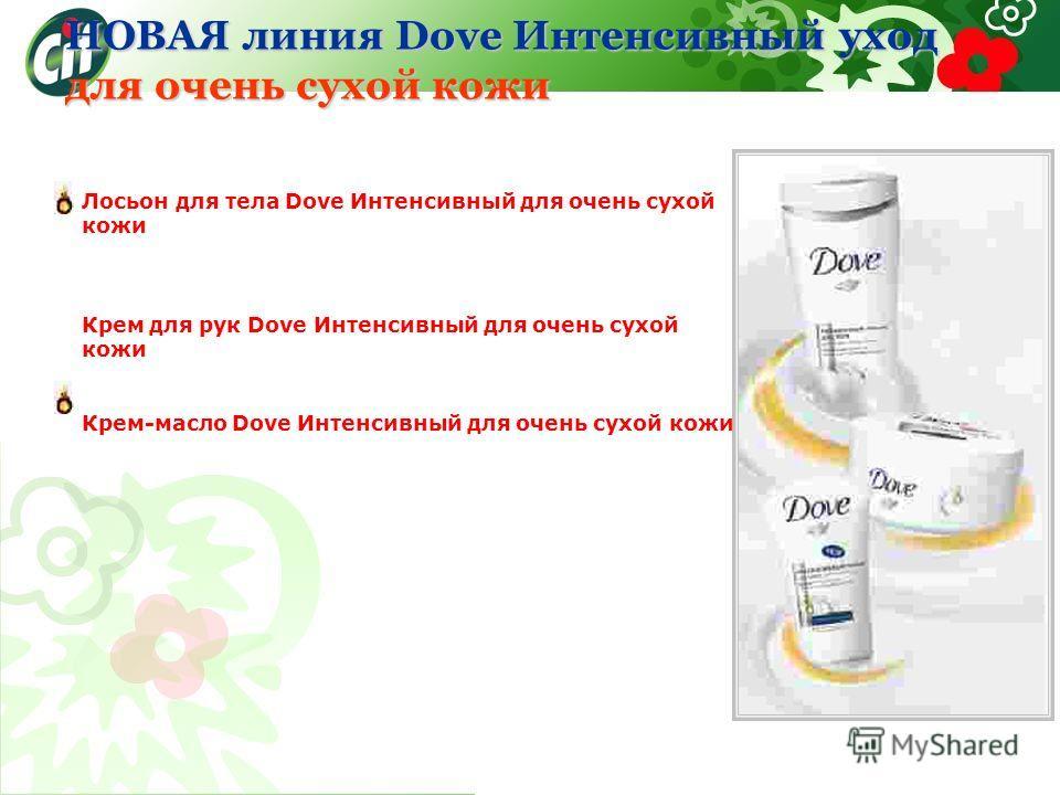 Лосьон для тела Dove Интенсивный для очень сухой кожи Крем для рук Dove Интенсивный для очень сухой кожи Крем-масло Dove Интенсивный для очень сухой кожи НОВАЯ линия Dove Интенсивный уход для очень сухой кожи