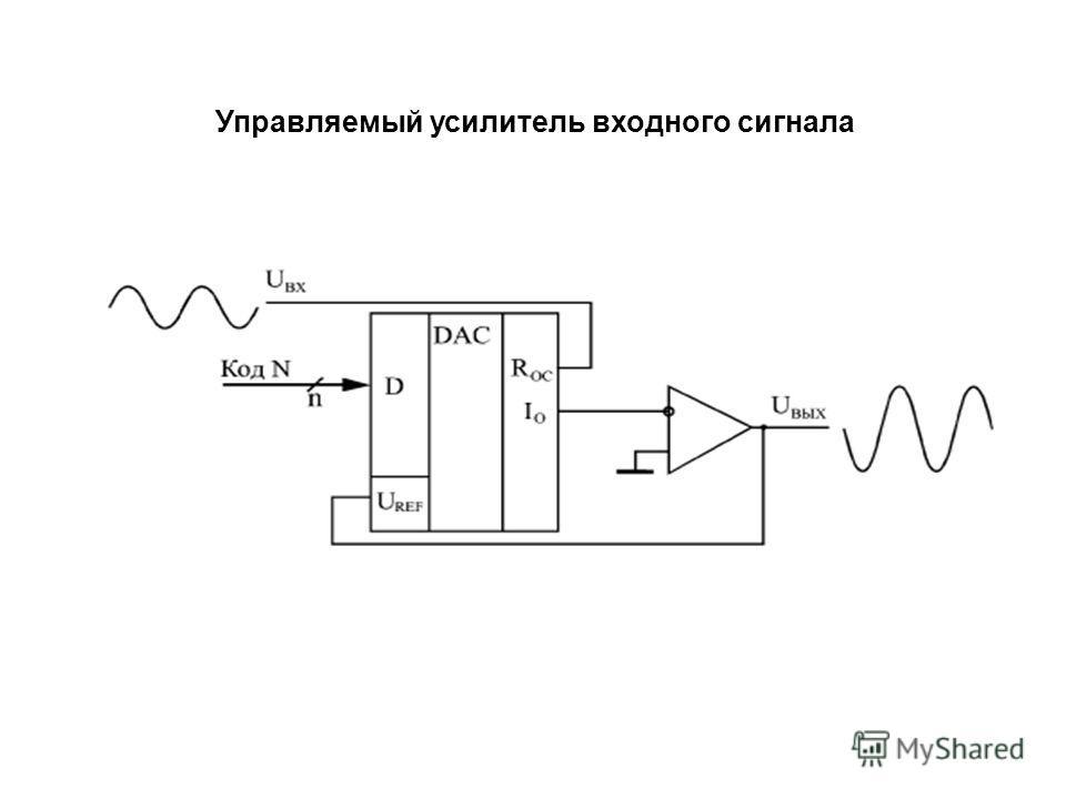 Управляемый усилитель входного сигнала