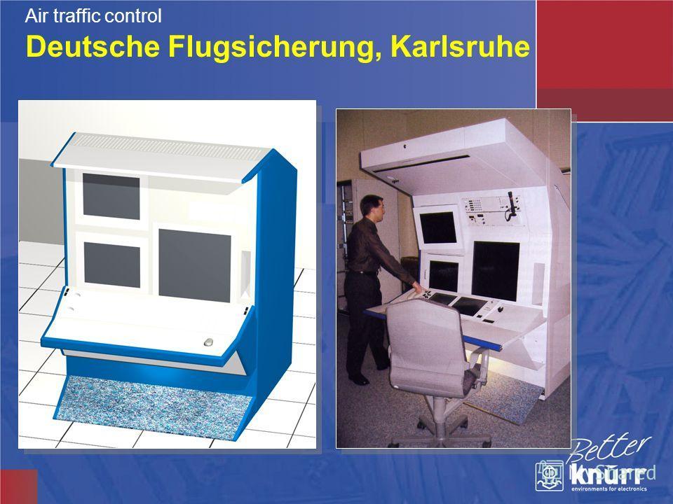 Deutsche Flugsicherung, Karlsruhe Air traffic control