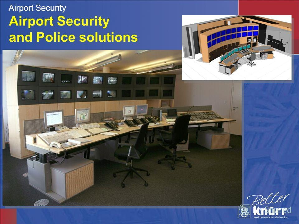 Airport Security and Police solutions Airport Security