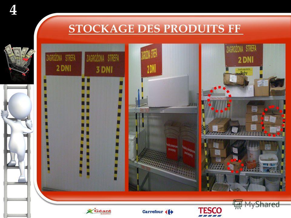 STOCKAGE DES PRODUITS FF 4