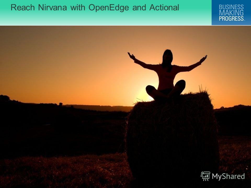 © 2009 Progress Software Corporation. All rights reserved. Reach Nirvana with OpenEdge and Actional 16