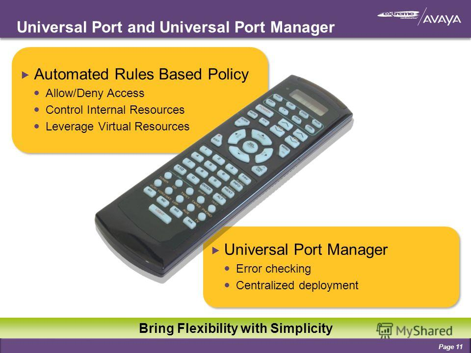 Universal Port and Universal Port Manager Automated Rules Based Policy Allow/Deny Access Control Internal Resources Leverage Virtual Resources Automated Rules Based Policy Allow/Deny Access Control Internal Resources Leverage Virtual Resources Univer