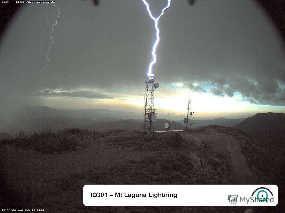 IQ301 – Mt Laguna Lightning