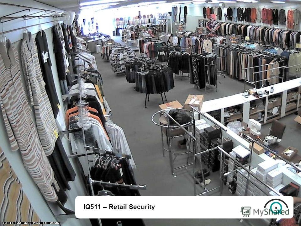 IQ511 – Retail Security