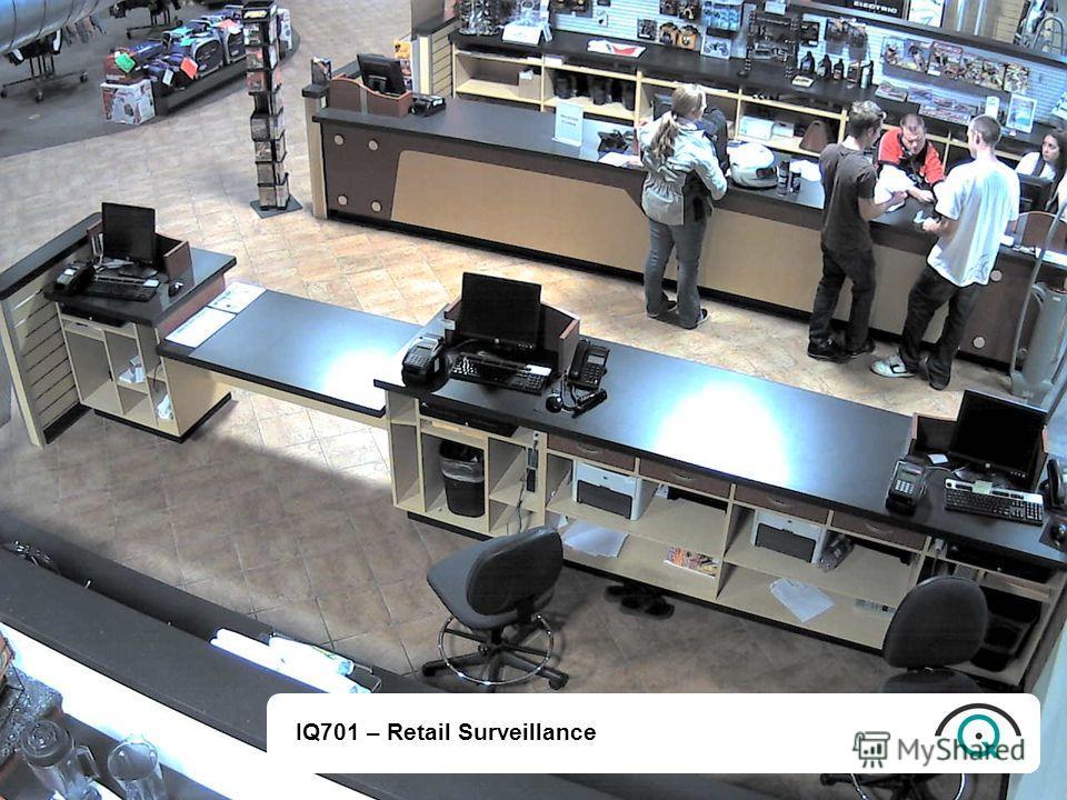 IQ701 – Retail Surveillance