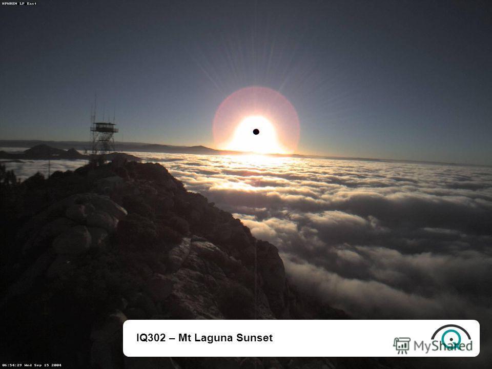 IQ302 – Mt Laguna Sunset