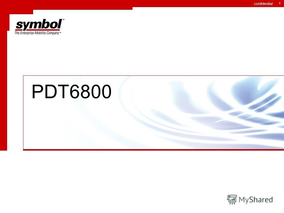 confidential 1 PDT6800