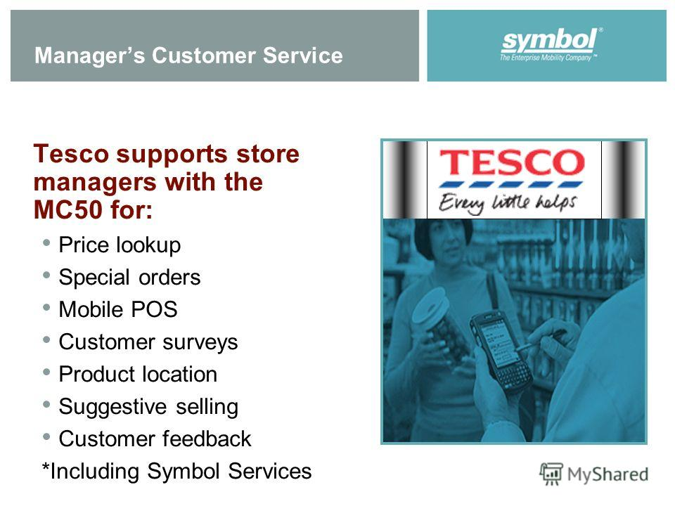 customer services tesco