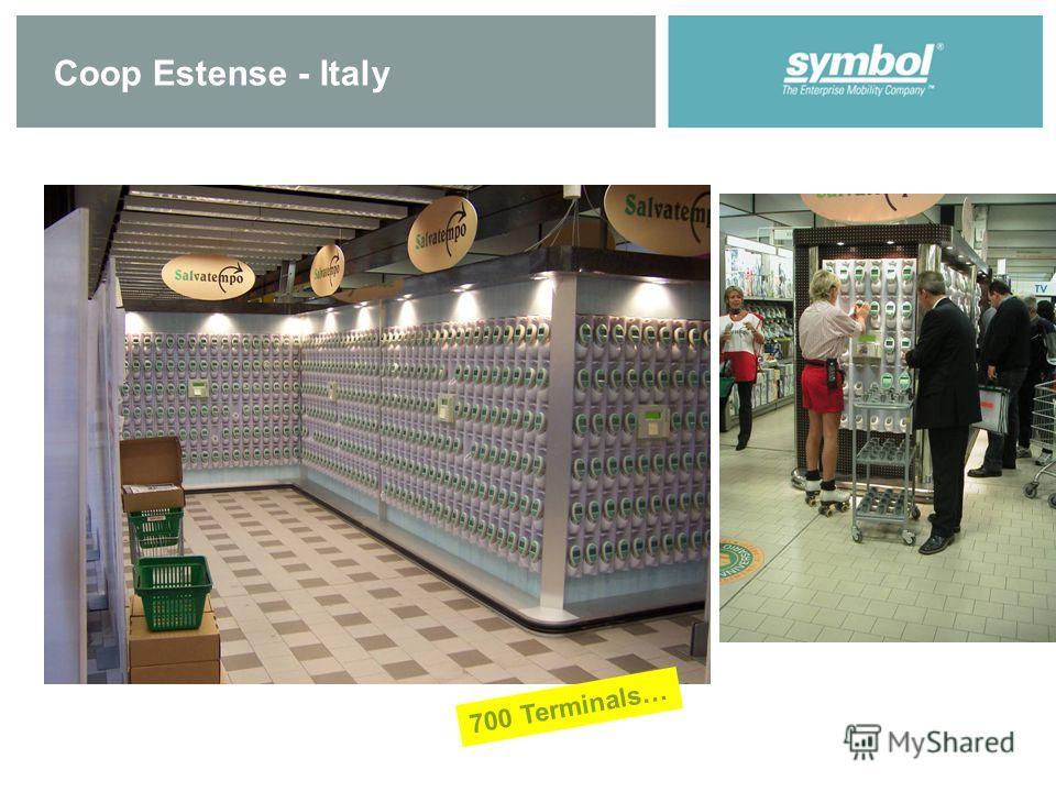Coop Estense - Italy 700 Terminals…