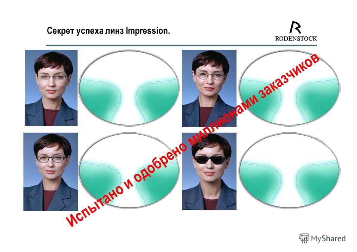 Impression - Индивидуальные линзы от фирмы Роденшток.