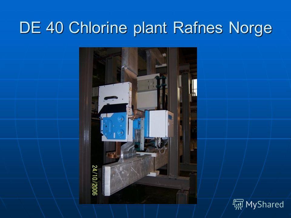 DE 40 Chlorine plant Rafnes Norge