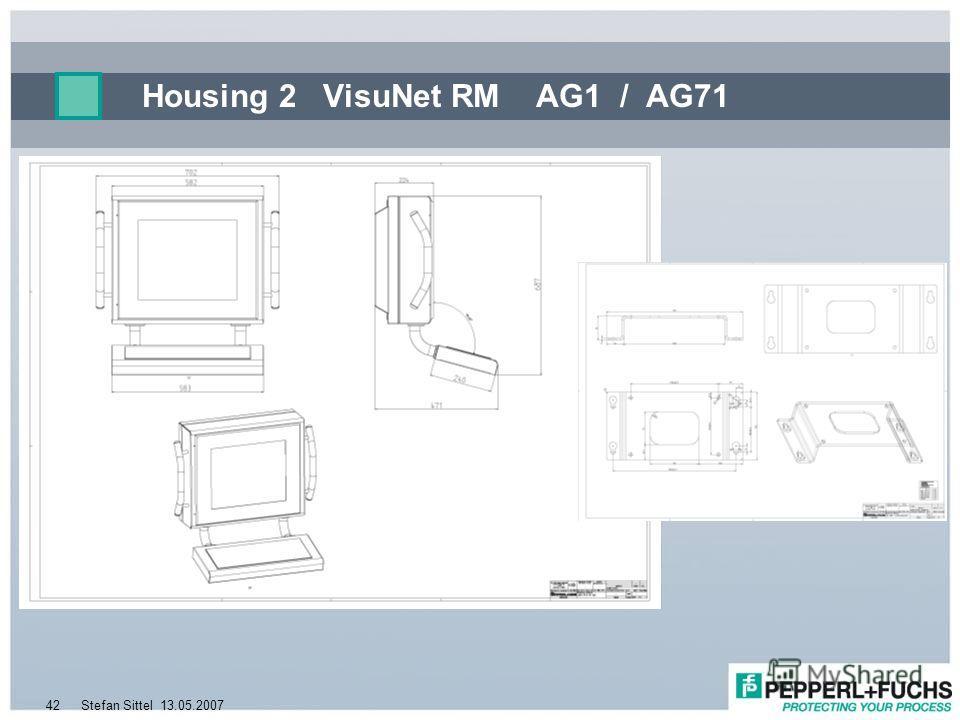 13.05.2007Stefan Sittel42 Housing 2 VisuNet RM AG1 / AG71