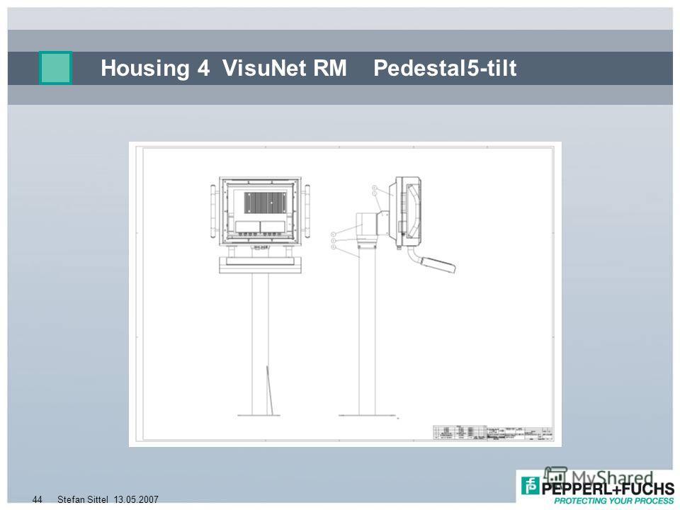 13.05.2007Stefan Sittel44 Housing 4 VisuNet RM Pedestal5-tilt