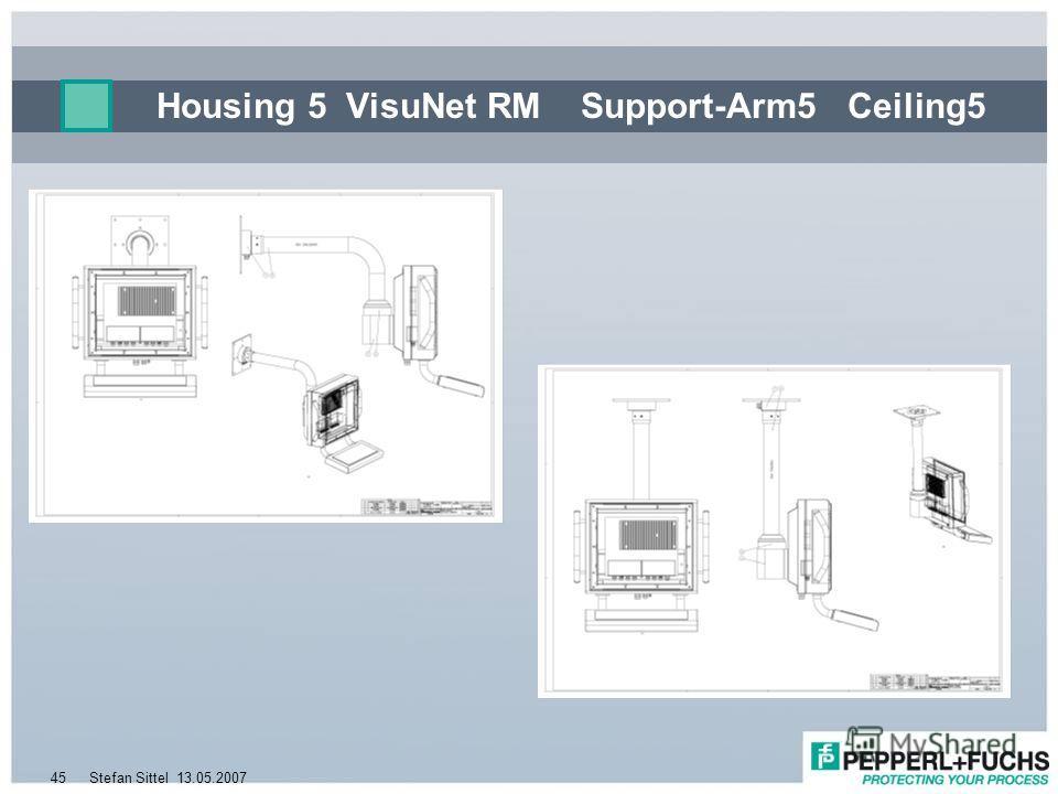 13.05.2007Stefan Sittel45 Housing 5 VisuNet RM Support-Arm5 Ceiling5