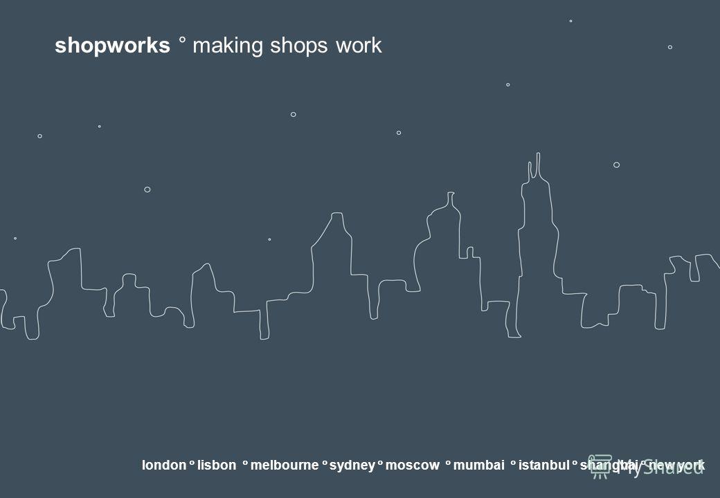 shopworks making shops work london. Black Bedroom Furniture Sets. Home Design Ideas
