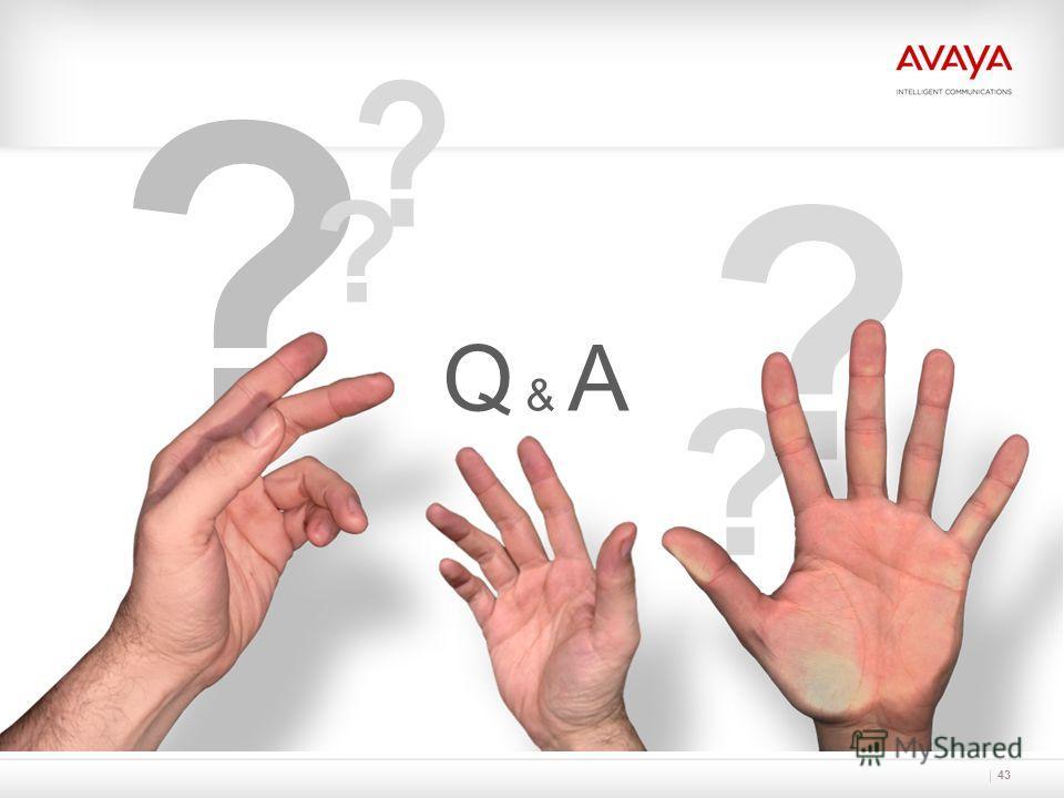 43 ? ? ? Q & A ? ?