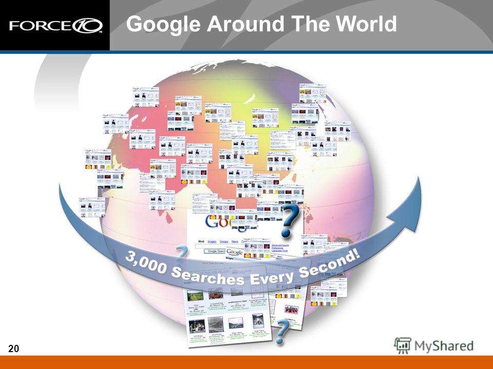 20 Google Around The World