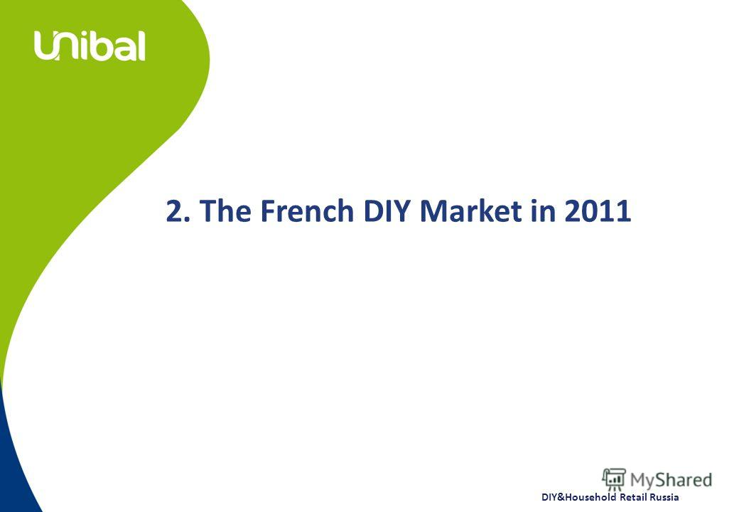 DIY&Household Retail Russia 2. The French DIY Market in 2011
