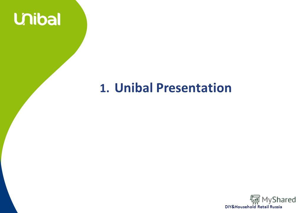 DIY&Household Retail Russia 1. Unibal Presentation