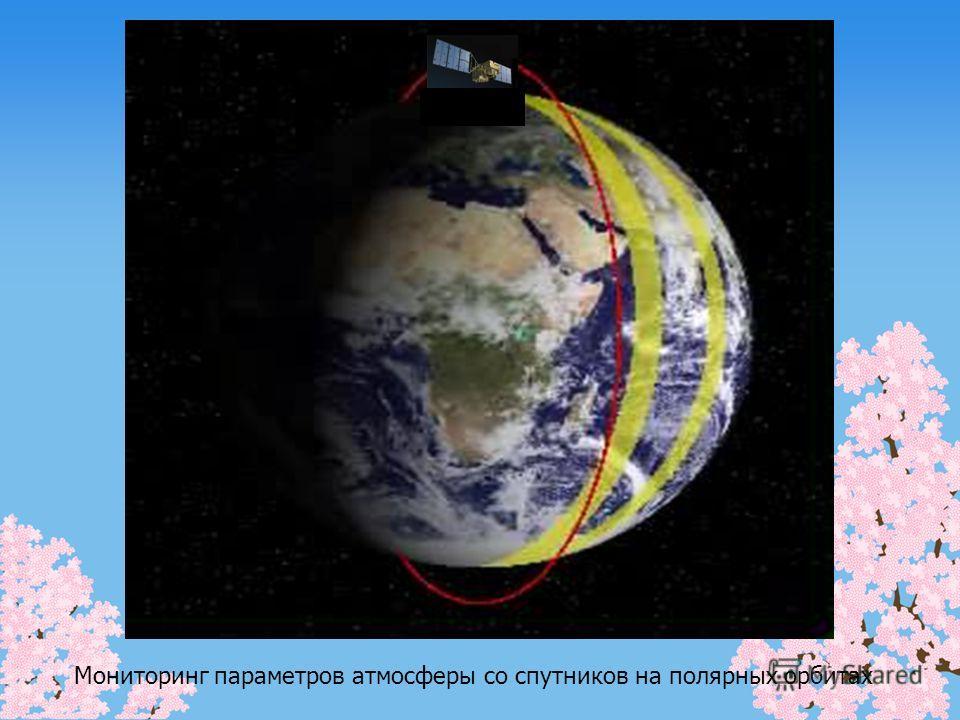 Мониторинг параметров атмосферы со спутников на полярных орбитах