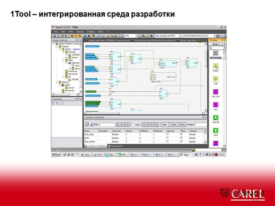 1Tool – интегрированная среда разработки