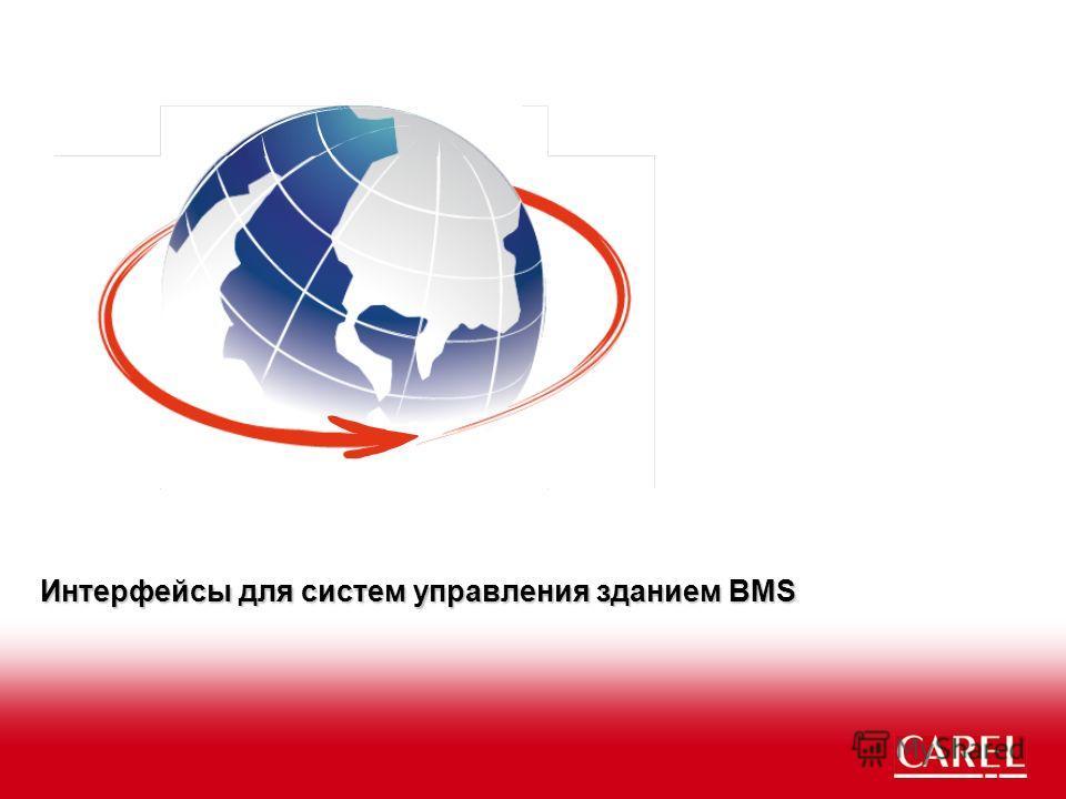 Интерфейсы для систем управления зданием BMS