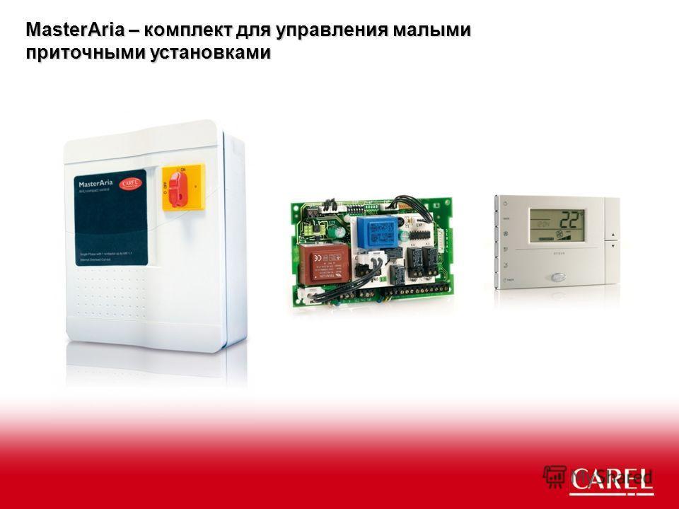 MasterAria – комплект для управления малыми приточными установками