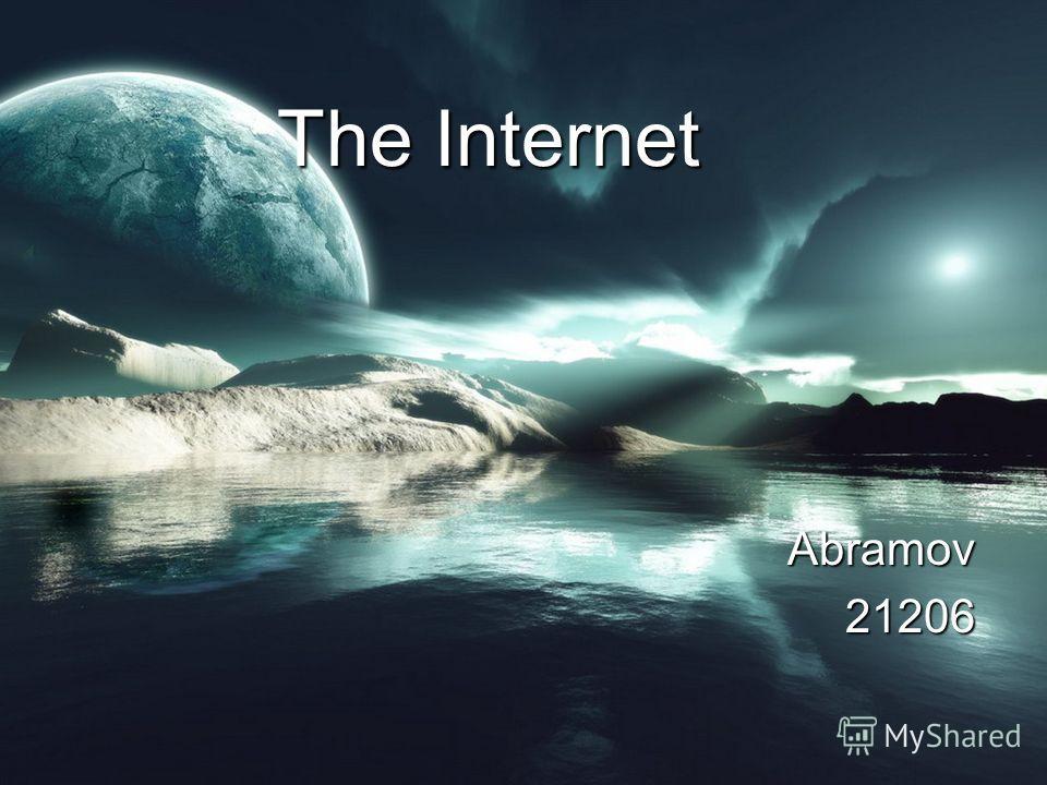 The Internet Abramov21206