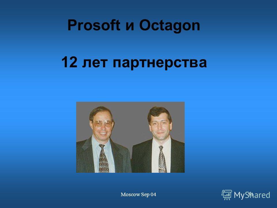Moscow Sep 0451 Prosoft и Octagon 12 лет партнерства