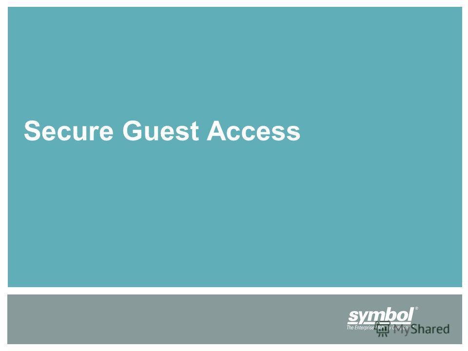 Secure Guest Access