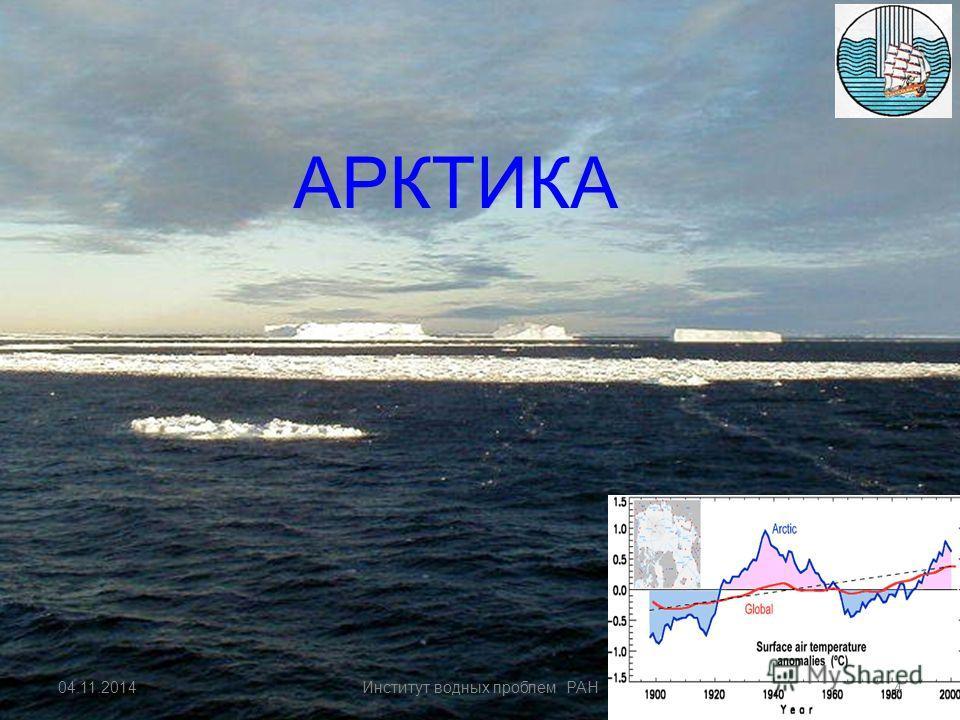 IPCC (Report 4) 04.11.20143Институт водных проблем РАН