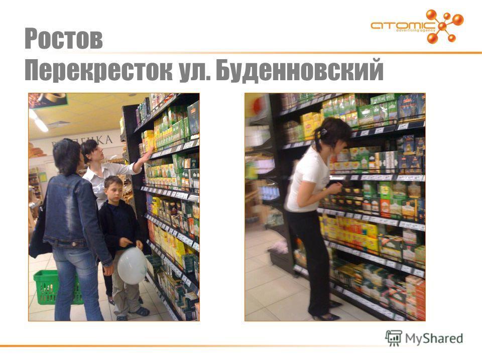 Ростов Перекресток ул. Буденновский