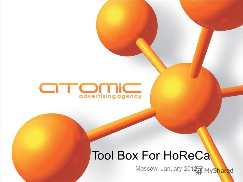 Tool Box For HoReCa Moscow, January 2012