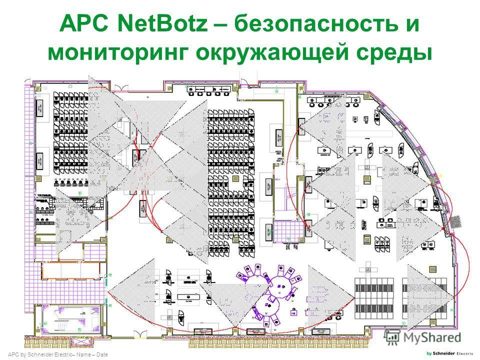 APC by Schneider Electric– Name – Date APC NetBotz – безопасность и мониторинг окружающей среды
