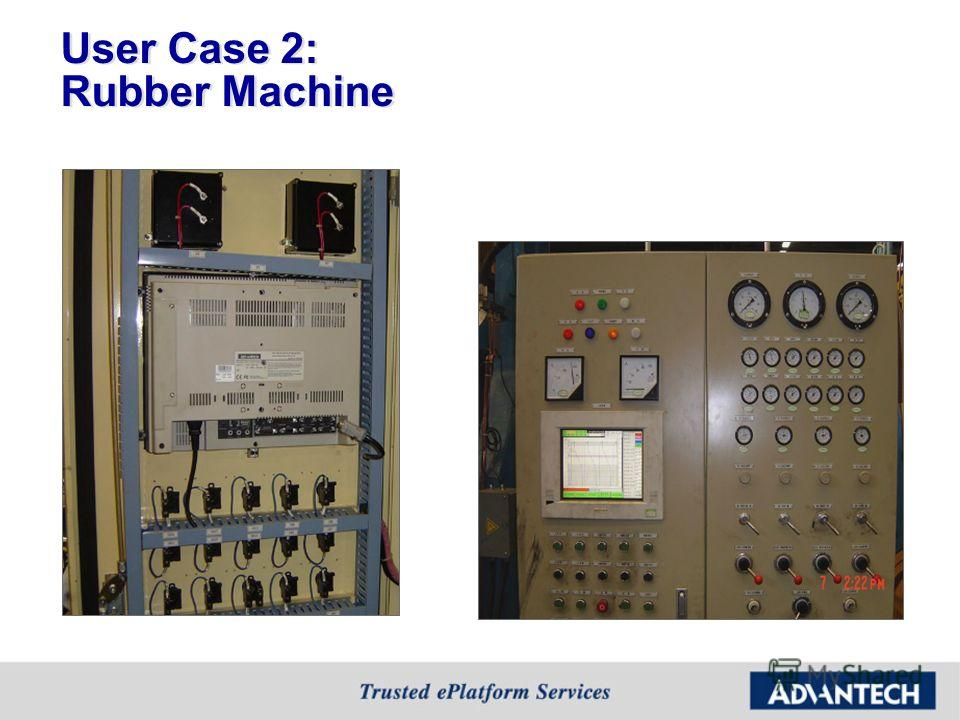 User Case 2: Rubber Machine