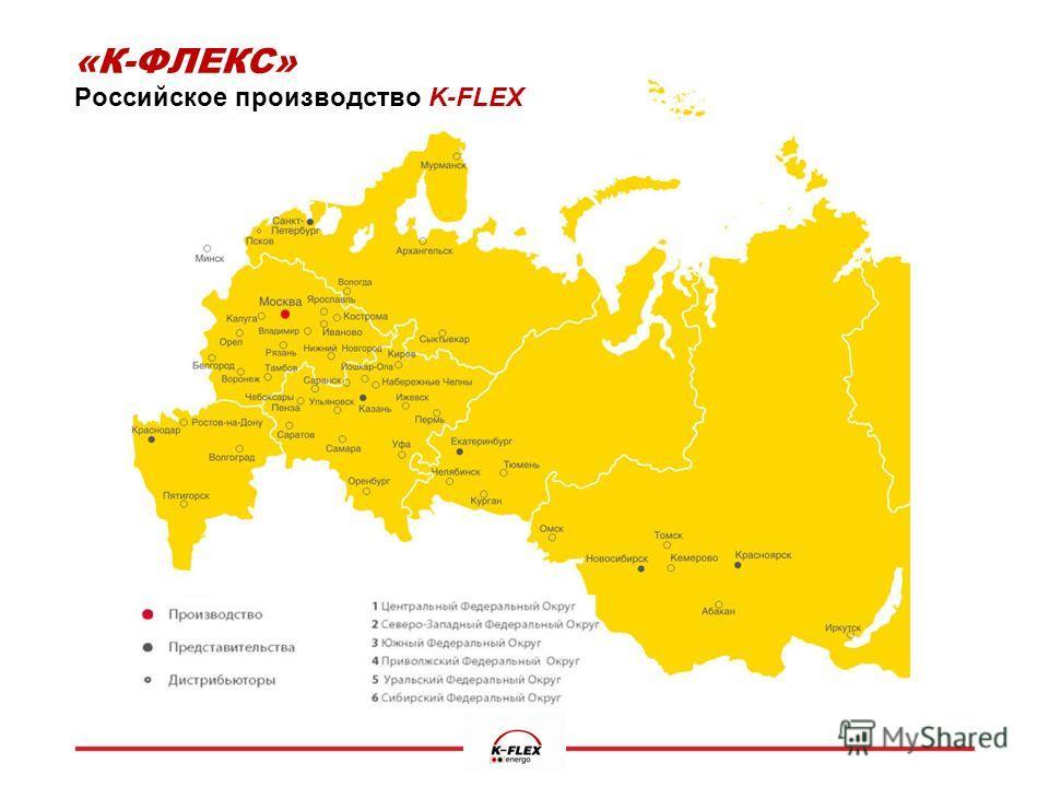 «К-ФЛЕКС» Российское производство K-FLEX