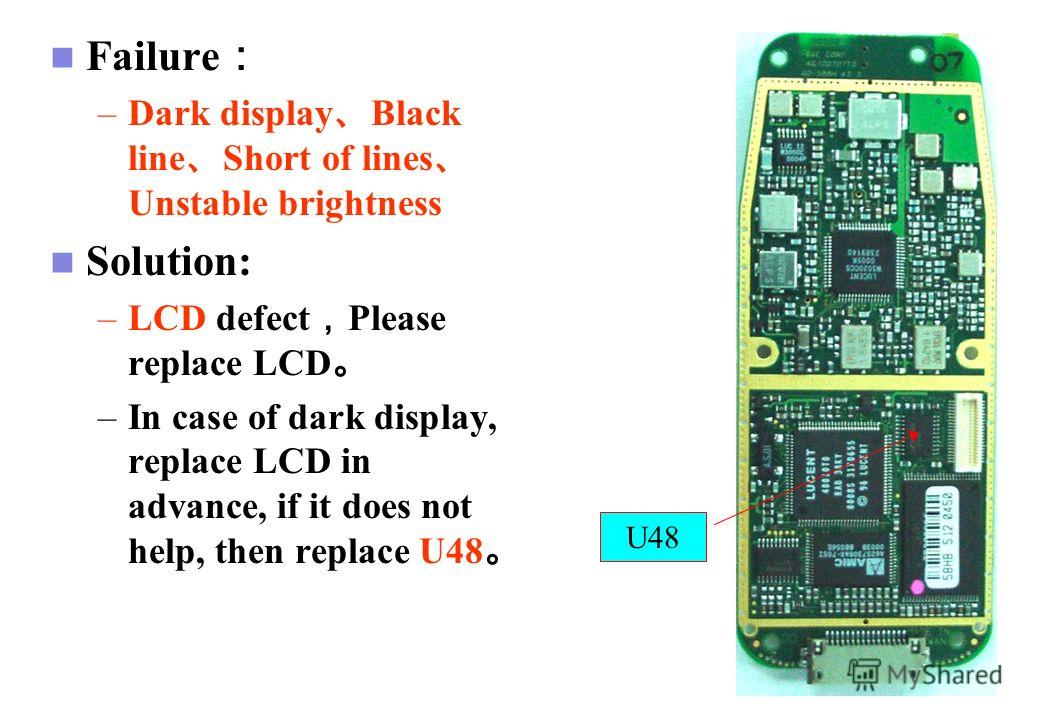 GSM Cell Phone J1 - Case 3. Check the soldering points and connection of J1 and J901 connectors. Check the circuit trace on UIF board